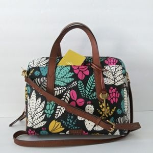 NEW FOSSIL HAILEY SATCHEL CROSSBODY HAND BAG